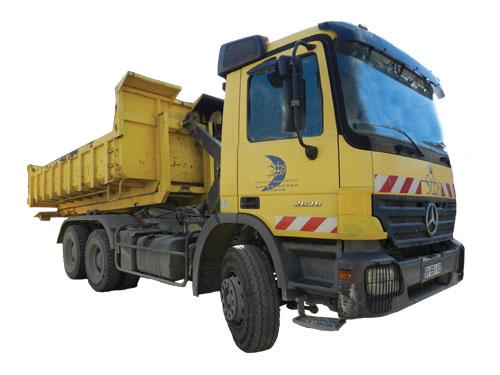 Camion 26 tonnes Ampiroll 6×4