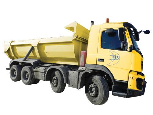 Camion 32 tonnes chantier 8×4